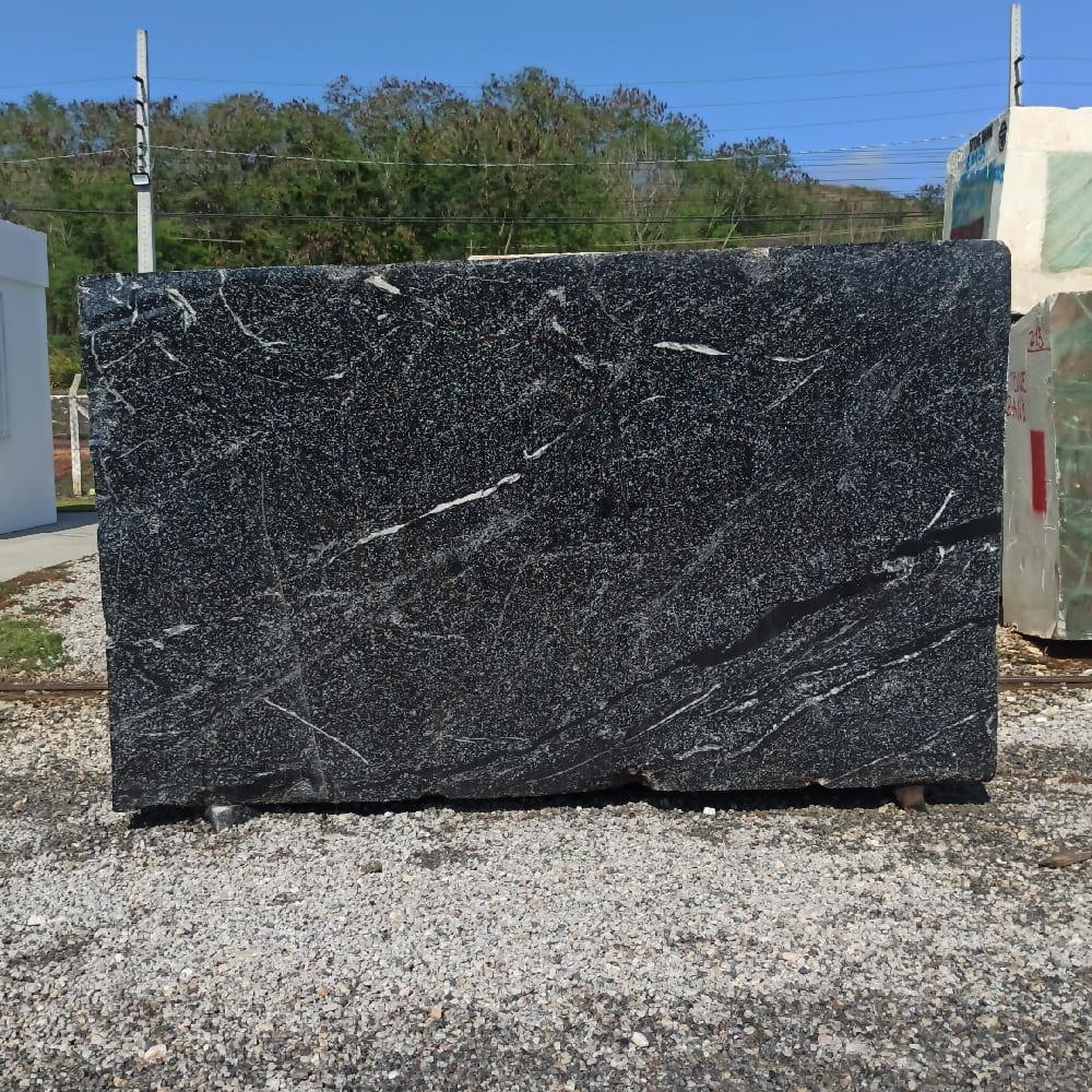 Bloco de Granito American Black - Bloco nº176 - Premium