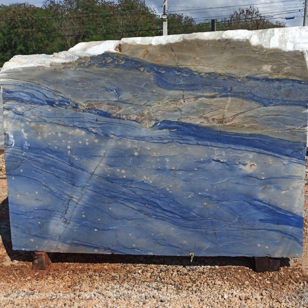 Bloco de Quartzito Azul Macaubas - Bloco nº103 - Premium