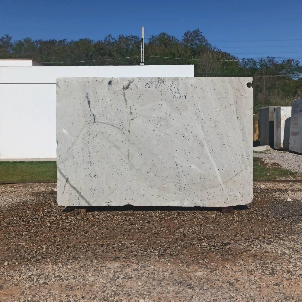 Bloco de Quartzito Zanet White - Bloco nº1318 - Premium