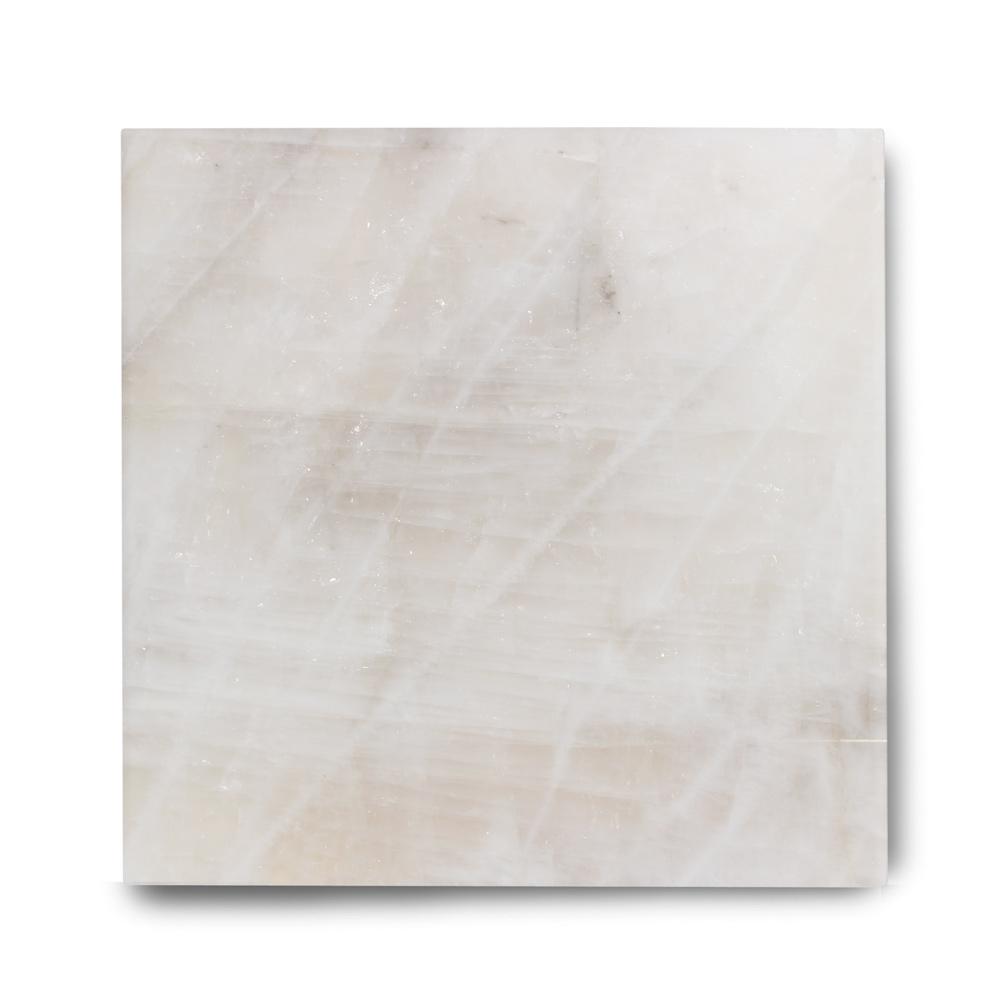 Piso de Cristal de Quartzo Exótico Polido Cristal Príncipe de 2cm de Espessura 90x90cm