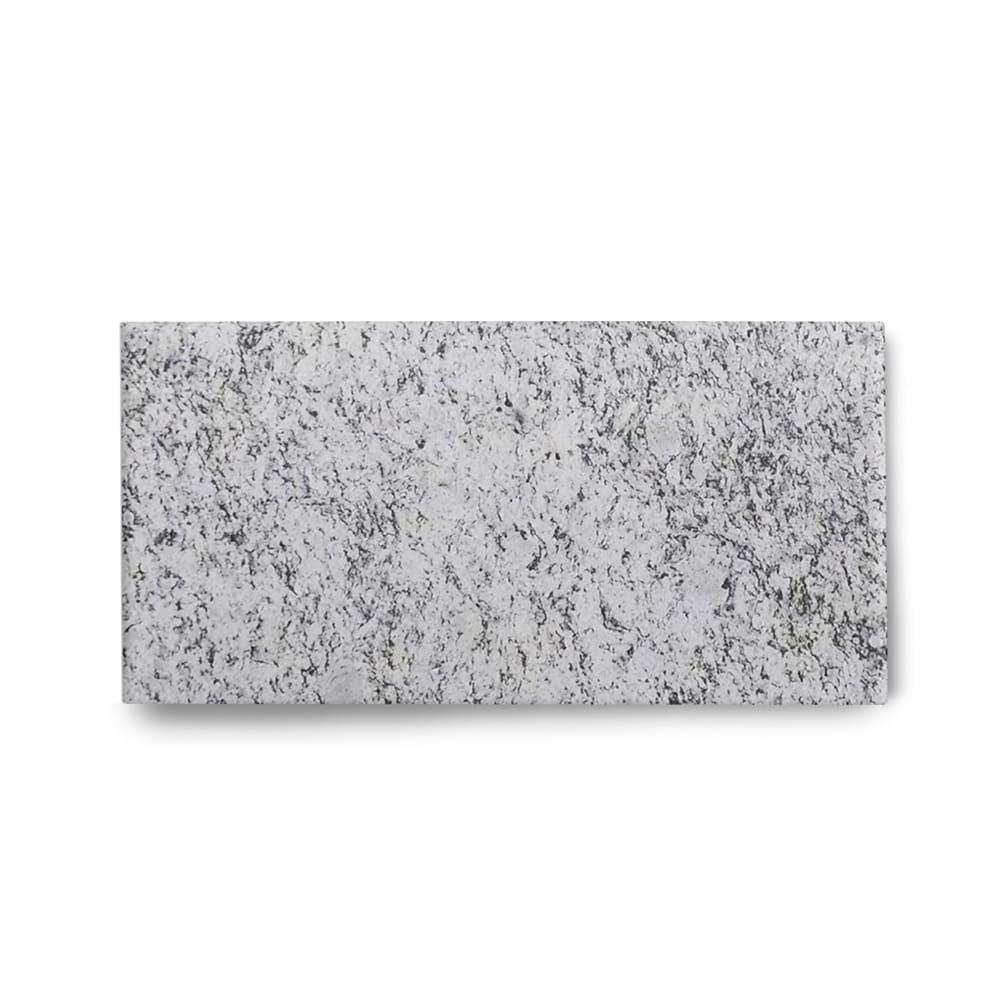 Piso de Granito Polido Clássico Branco Dallas de 1,5cm 57x15cm