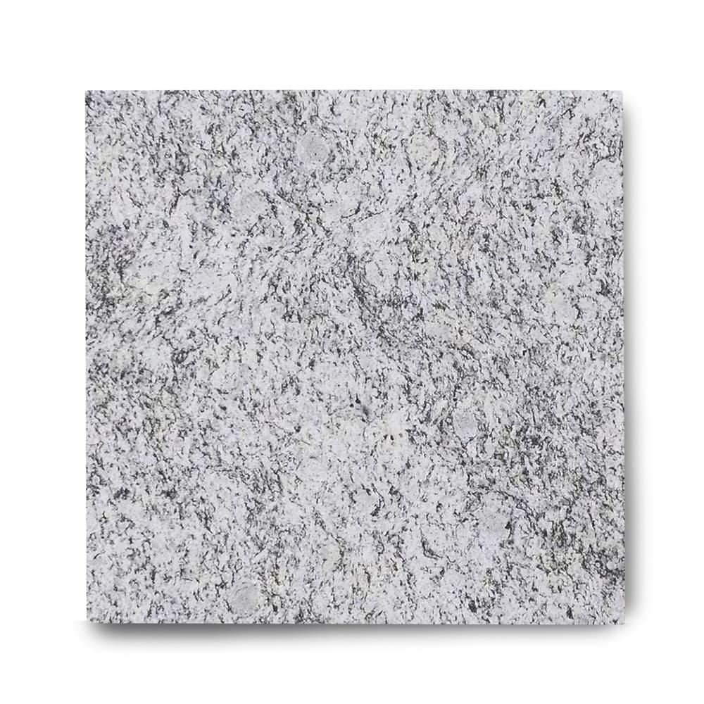 Piso de Granito Polido Clássico Branco Dallas de 1,5cm 57x57cm