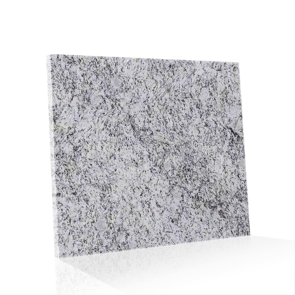 Piso de Granito Polido Clássico Branco Dallas de 1,5cm 60x60cm