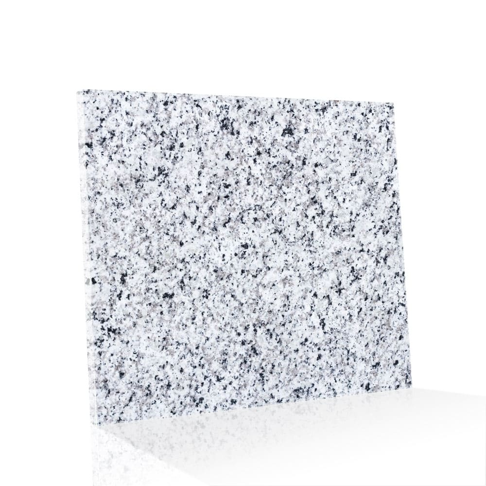 Piso de Granito Polido Clássico Branco Fortaleza de 1,5cm 55x55cm