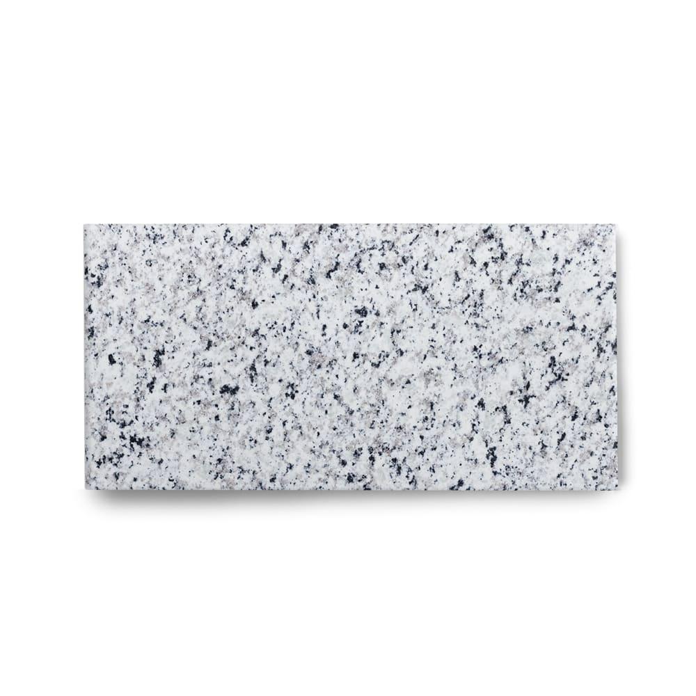 Piso de Granito Polido Clássico Branco Fortaleza de 1,5cm 57x15cm
