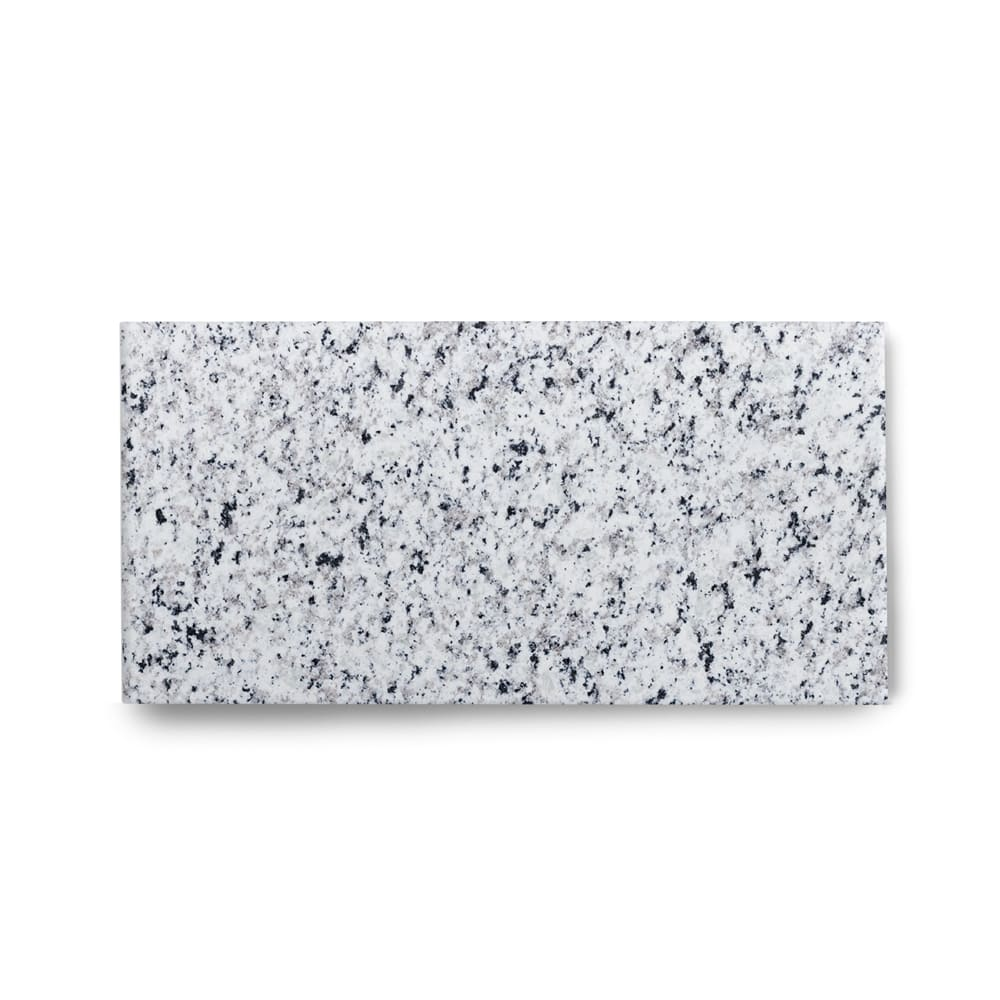 Piso de Granito Polido Clássico Branco Fortaleza de 1,5cm 57x30cm