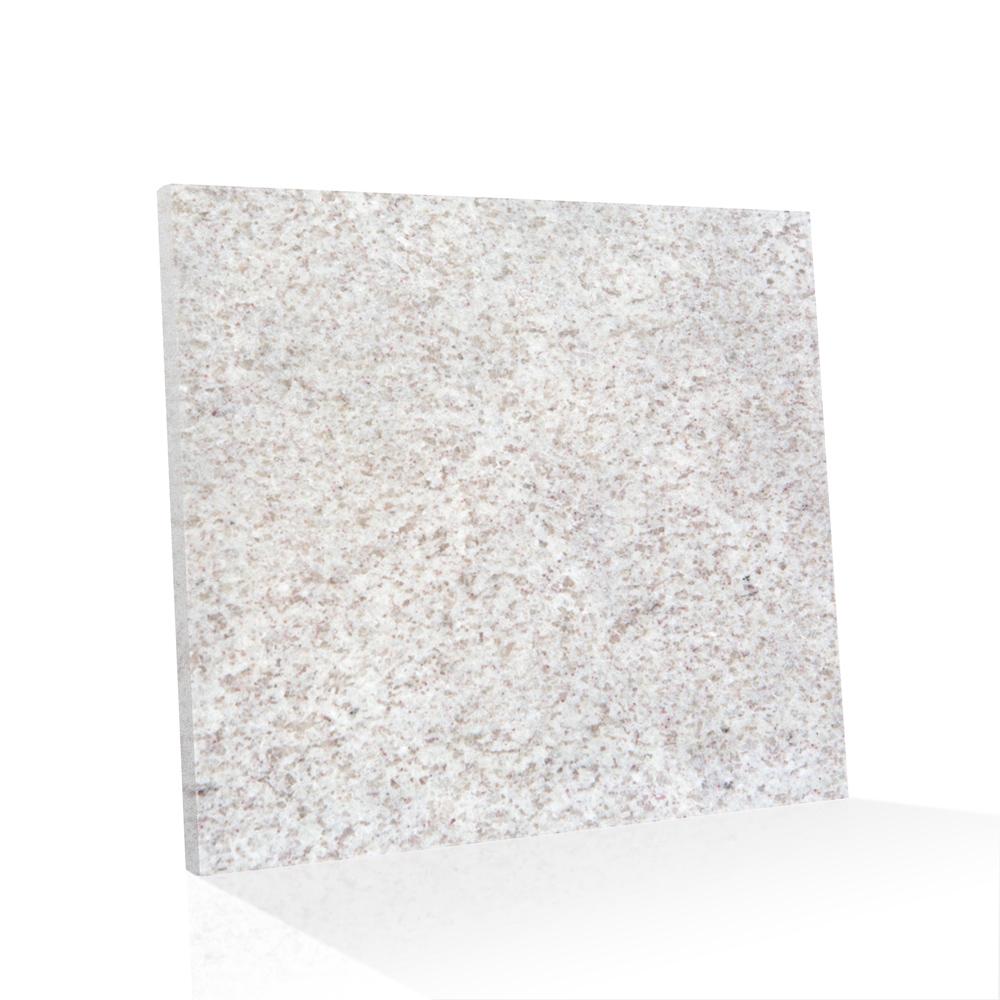 Piso de Granito Polido Clássico Branco Itaunas de 2cm Padrão A 90x90cm