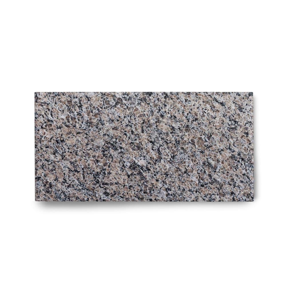 Piso de Granito Polido Clássico Marrom New Caledonia de 2cm 57x15cm