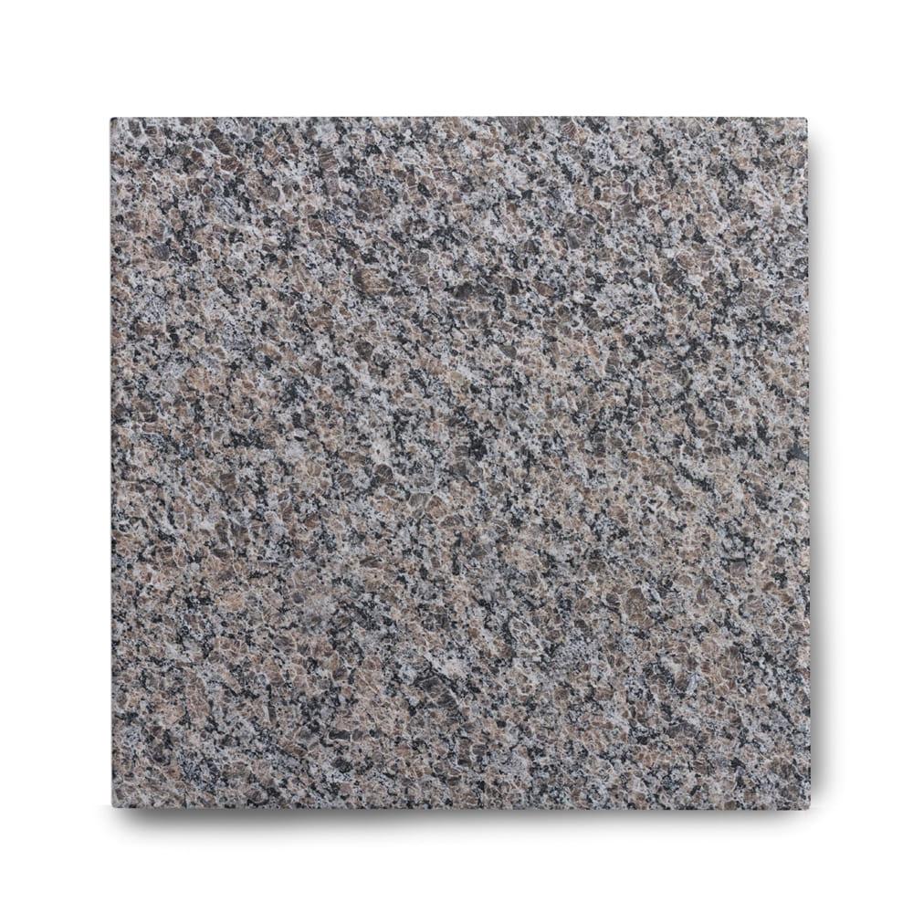 Piso de Granito Polido Clássico Marrom New Caledonia de 2cm 57x57cm