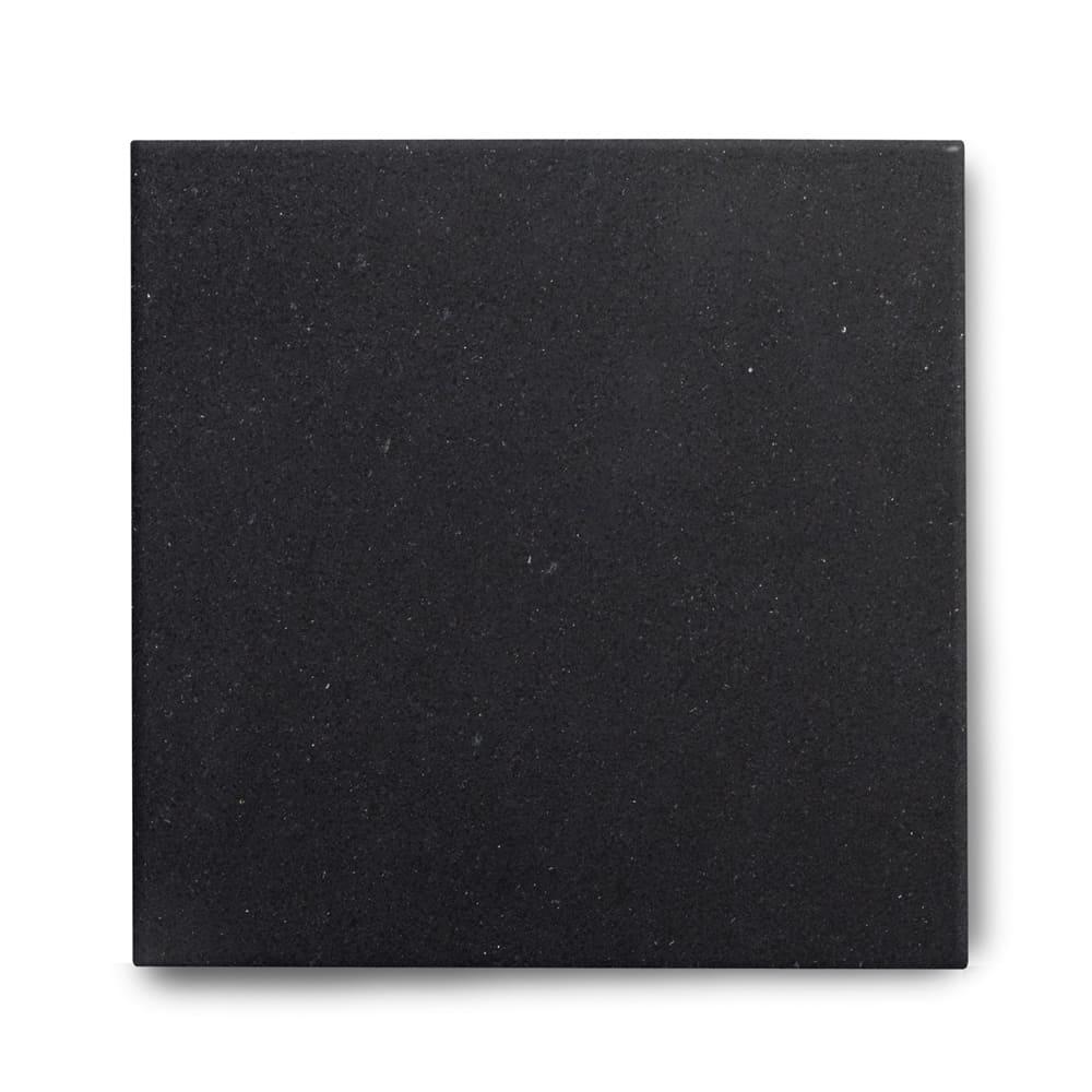 Piso de Granito Polido Clássico Preto São Gabriel de 2cm 55x55cm