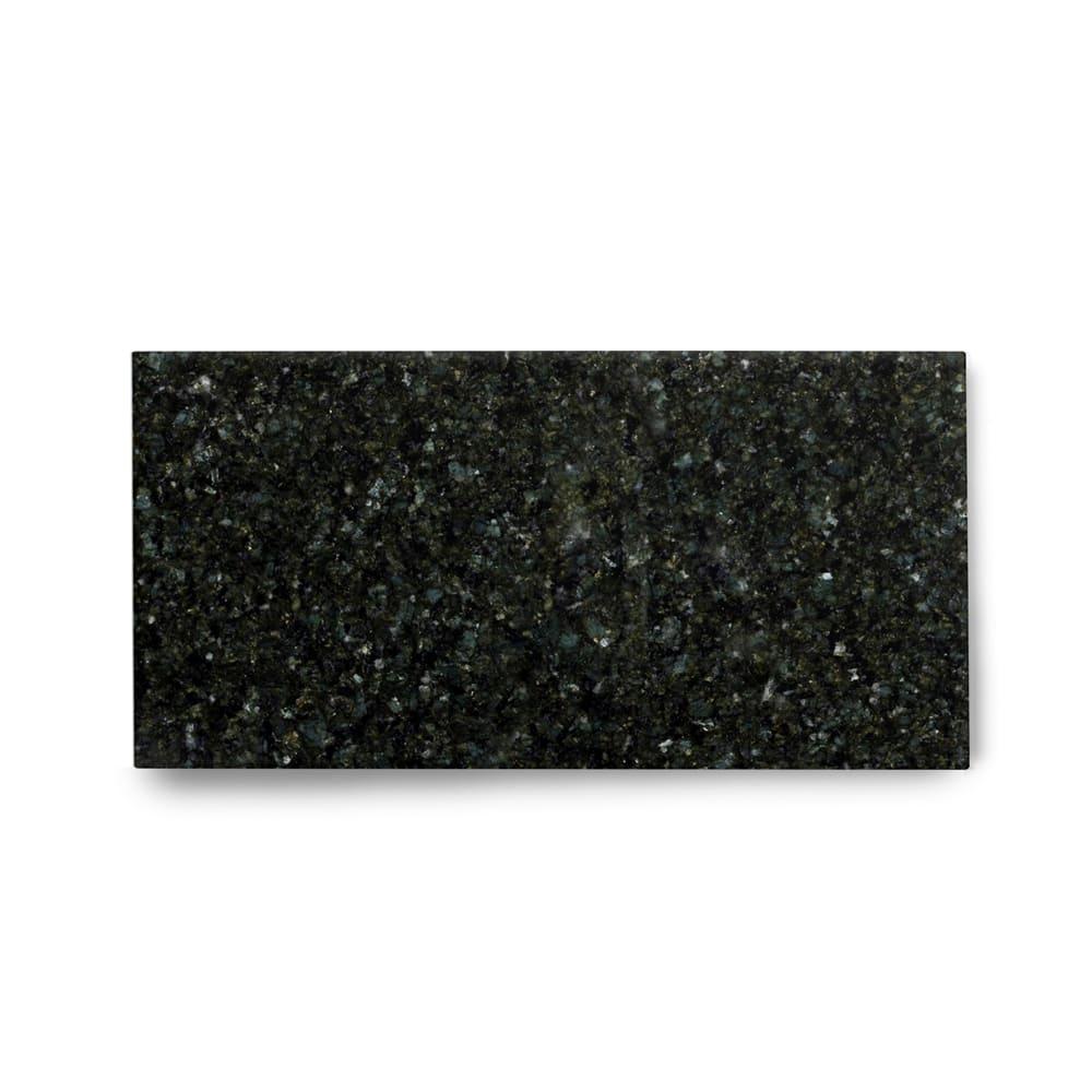 Piso de Granito Polido Clássico Verde Ubatuba de 2cm 57x15cm