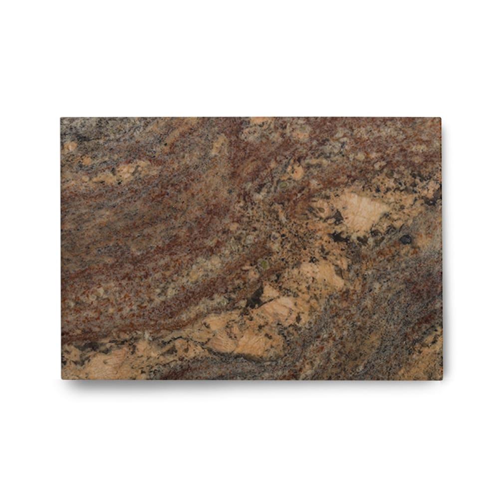 Piso de Granito Polido Exótico Bordeaux de 2cm 130x90cm