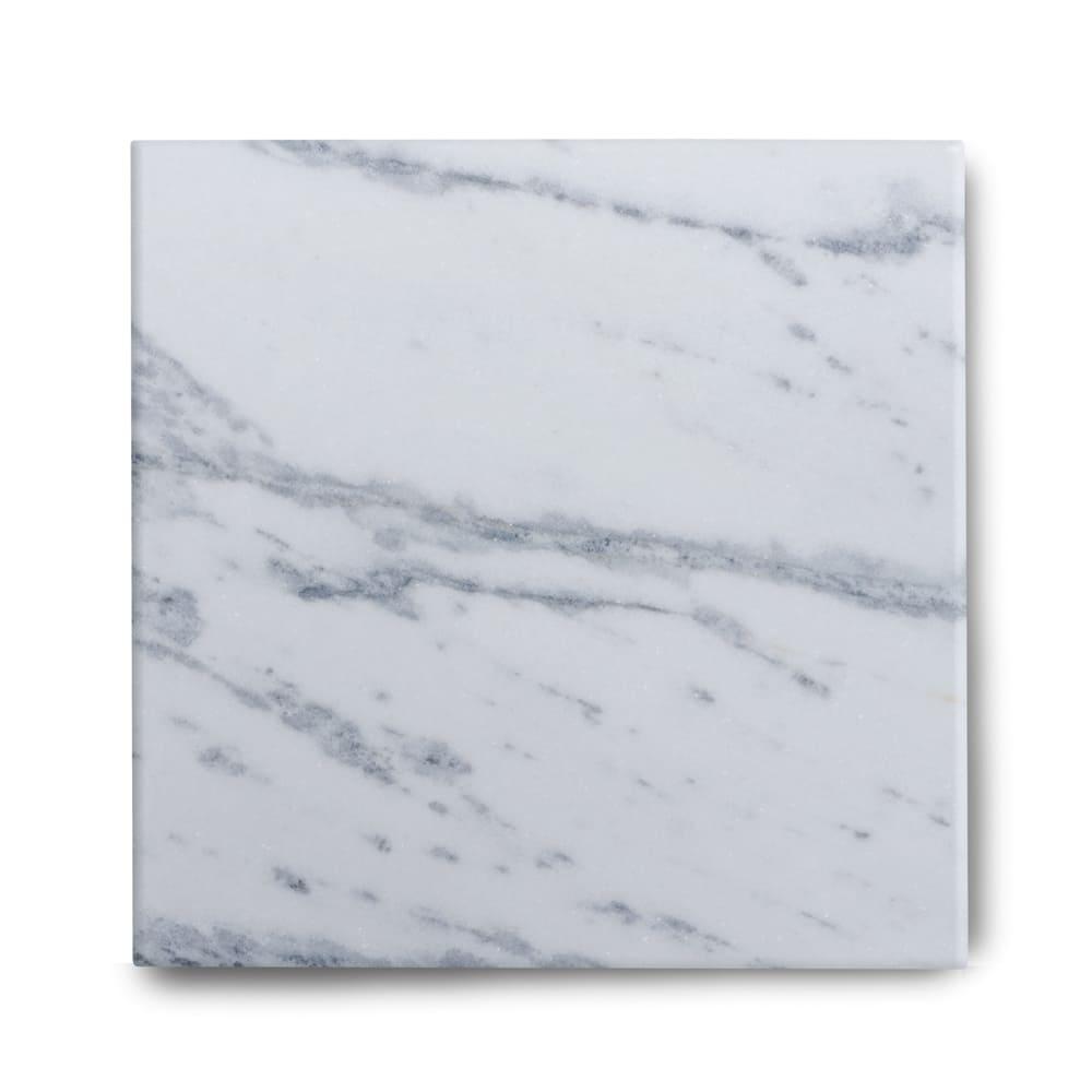 Piso de Mármore Polido Clássico Brazilian Carrara  de 1,5cm 55x55cm