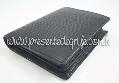 CARTEIRA MASCULINA LOUIS VUITTON EPI LEATHER BILLFOLD