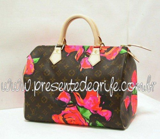BOLSA LOUIS VUITTON SPEEDY ROSES