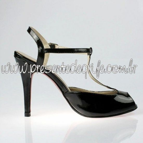 SAPATO CHRISTIAN LOUBOUTIN T BAR SANDALS