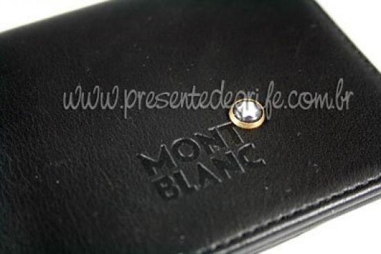 CARTEIRA MONTBLANC BL01 COURO NATURAL