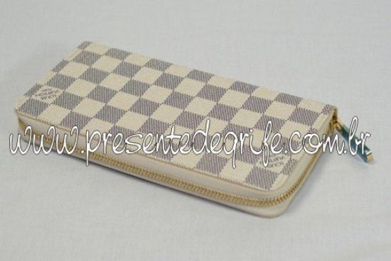 CARTEIRA LOUIS VUITTON ZIPPY DAMIER AZUR 02