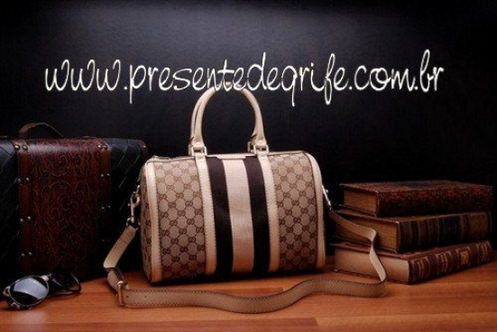 BOLSA GUCCI TOP HANDLE SIGNATURE