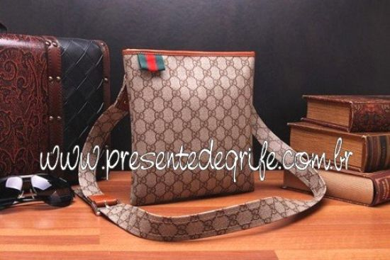 BOLSA GUCCI MESSENGER SMALL WITH WEB