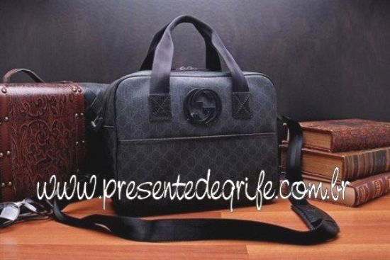 BOLSA GUCCI BRIEFCASE BLACK