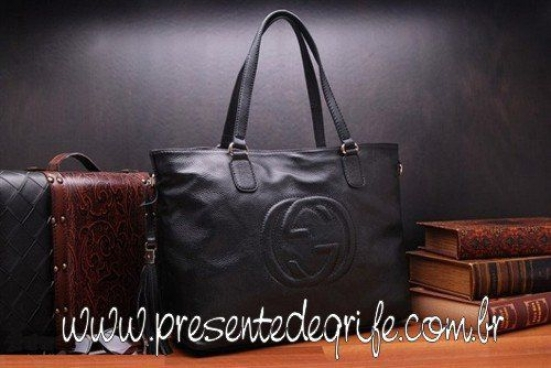 BOLSA GUCCI TOTE LEATHER