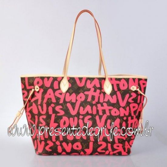 BOLSA LOUIS VUITTON NEVERFULL GRAFFITI