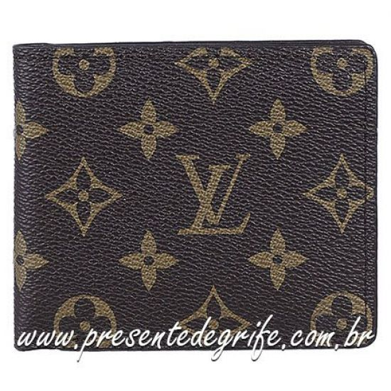 CARTEIRA LOUIS VUITTON CROSS CARDS MONOGRAM UNISSEX