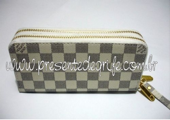 CARTEIRA LOUIS VUITTON ZIPPY DAMIER AZUR