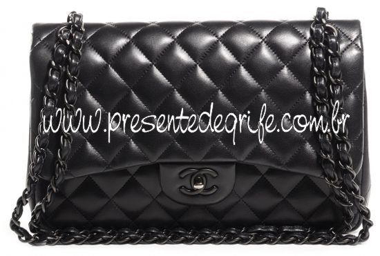 BOLSA CHANEL 2.55 ALL BLACK
