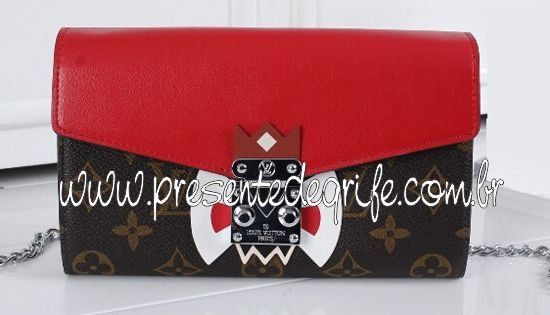 BOLSA CARTEIRA LOUIS VUITTON TRIBAL MASK  MONOGRAM