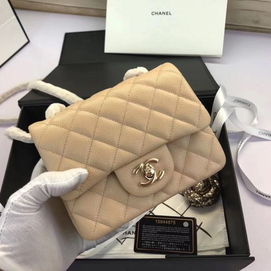 BOLSA CHANEL 2.55 MINI CAVIAR **OUTLET**