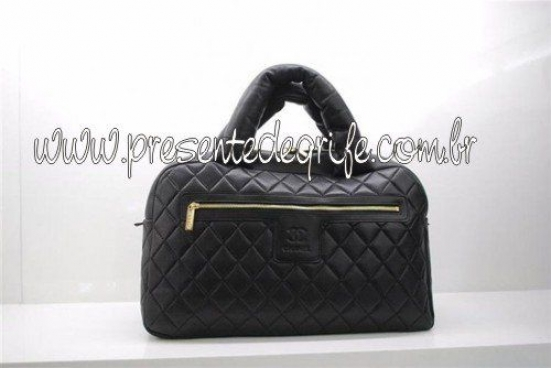 BOLSA CHANEL COCO COCOON QUILTED LAMBSKIN