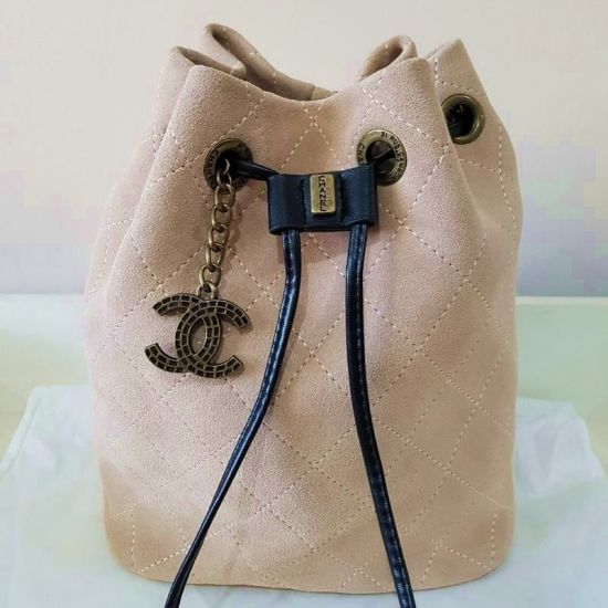 BOLSA CHANEL DRAWSTRING SUEDE **OUTLET**