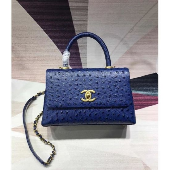 BOLSA CHANEL FLAP BAG WHITH TOP HANDLE B93737