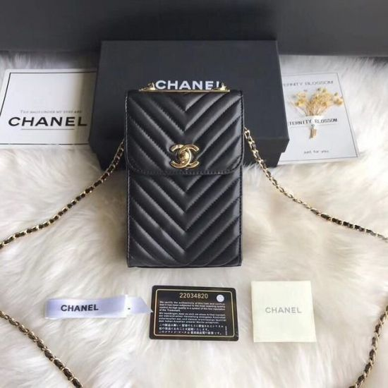 BOLSA  CHANEL FLAP MOBILE PHONE BAG 55698
