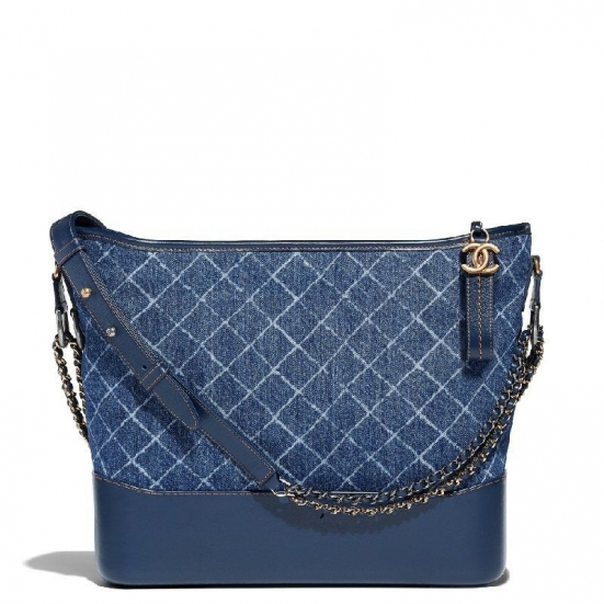 BOLSA CHANEL GABRIELLE DENIM SHOULDER BAG 1010A