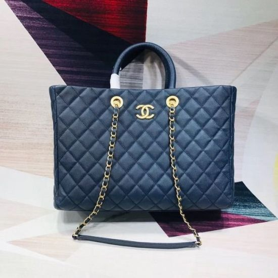 BOLSA CHANEL LARGE SHOPPING GRAINED CAVIAR A93525