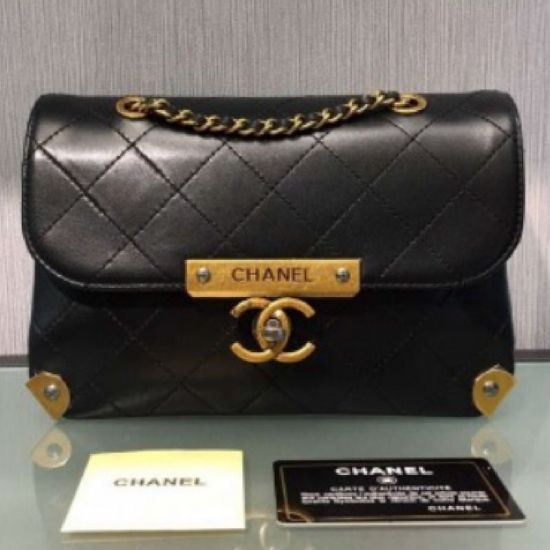 BOLSA CHANEL METAL MINI FLAP A93514