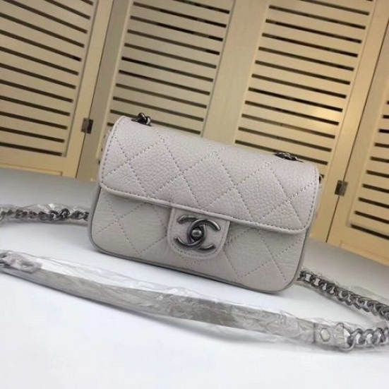 BOLSA CHANEL MINI LEATHER CROSS BODY BAG 7739