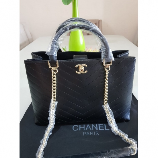 BOLSA CHANEL SHOPPER CHEVRON
