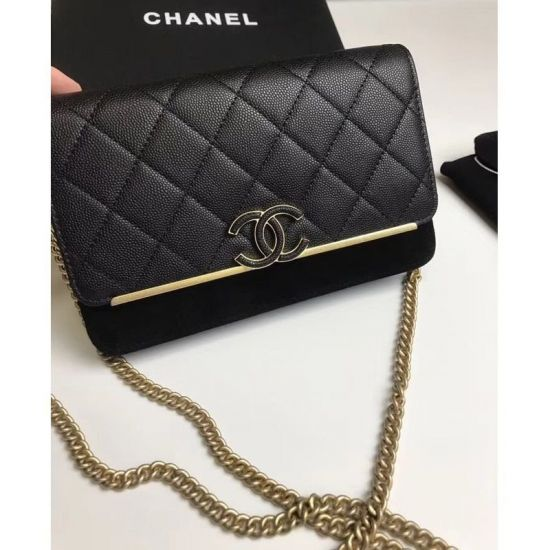 BOLSA CHANEL WALLET ON CHAIN A70641