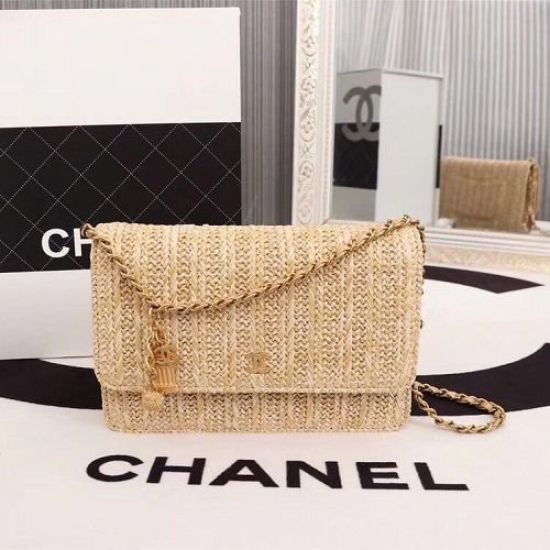 BOLSA CHANEL WOC CROSS BODY BAG B33814