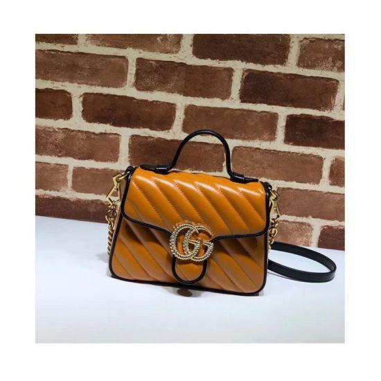 BOLSA GG MARMONT MINI TOP HANDLE BAG 583571