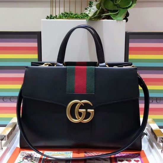 BOLSA GG MARMONT TOP HANDLE 421890 FLAG