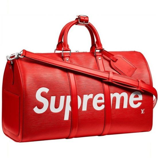BOLSA LOUIS VUITTON KEEPALL BANDOULIERE 45 SUPREME