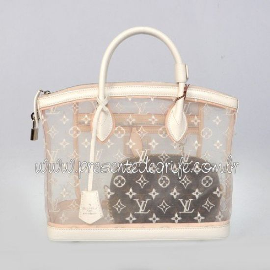BOLSA LOUIS VUITTON LOCKIT TRANSPARENCE