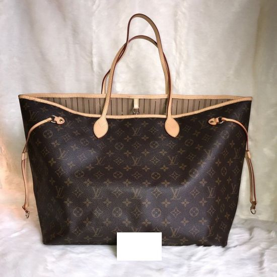 BOLSA LOUIS VUITTON NEVERFULL MONOGRAM COM NECESSAIRE