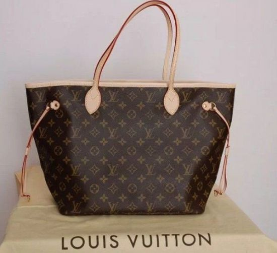 BOLSA LOUIS VUITTON NEVERFULL MONOGRAM GM **OUTLET**