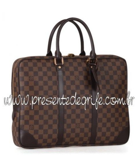 BOLSA PASTA LOUIS VUITTON PORTE DOCUMENTS VOYAGE DAMIER
